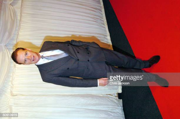 James Hewitt arrives for the filming of the television program 'Hell's Kitchen' May 31 2004 in London England Hell's Kitchen is the latest reality TV...