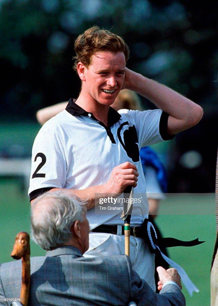 James Hewitt At The Royal Berkshire Polo Club Near Windsor.