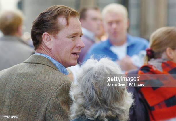 James Hewitt the former lover of Diana The Princess of Wales joins thousands of other protestors to demonstrate against the government's proposed ban...