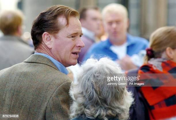 James Hewitt the former lover of Princess Diana at the prohunting demonstation in Parliament Square London Wednesday September 15 2004 He has been...