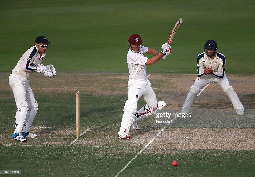 James Hildreth of Marylebone Cricket Club bats during day ...