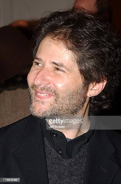 James Horner during Reception for Society of Composers Lyricists for a performance of excerpts of the score of Iris in Beverly Hills California...
