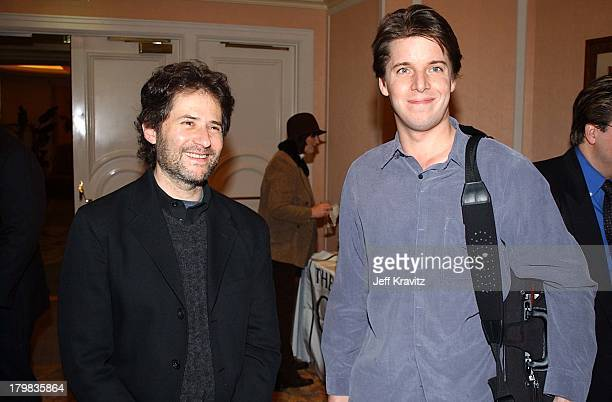 James Horner Joshua Bell during Reception for Society of Composers Lyricists for a performance of excerpts of the score of Iris in Beverly Hills...