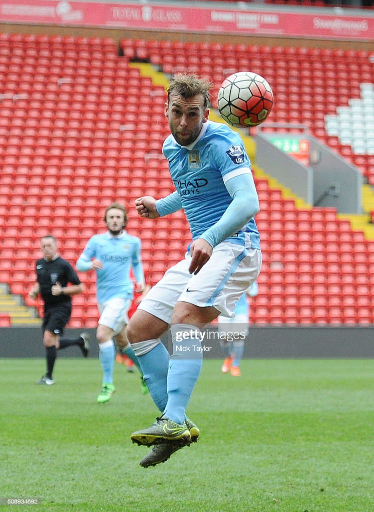 Liverpool U21 v Manchester City U21: Barclays U21 Premier League : News Photo