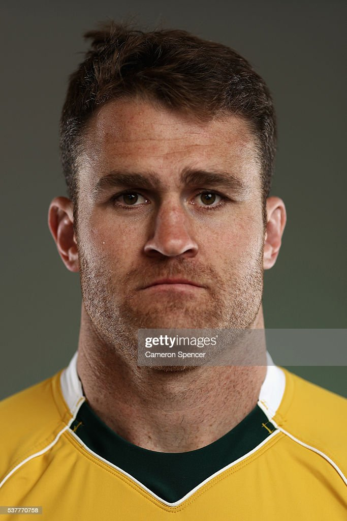 <a gi-track='captionPersonalityLinkClicked' href=/galleries/search?phrase=James+Horwill&family=editorial&specificpeople=637477 ng-click='$event.stopPropagation()'>James Horwill</a> of the Wallabies poses during an Australian Wallabies portrait session on May 30, 2016 in Sunshine Coast, Australia.