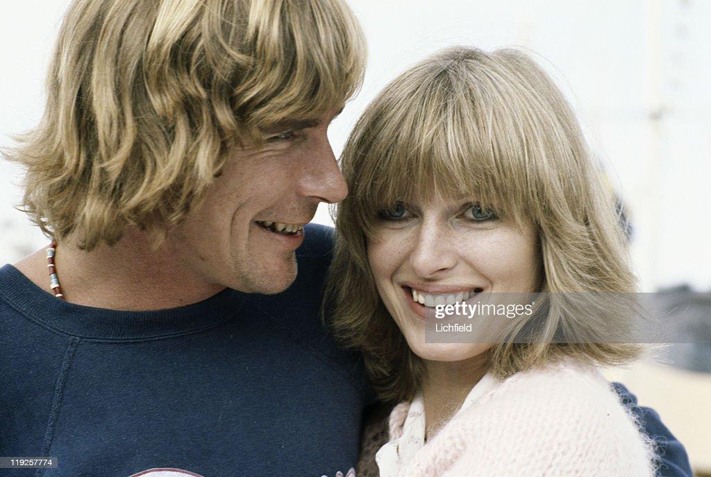 James Hunt and Jane Birbeck, British Formula 1 World Champion racing driver and his model girlfriend, Monte Carlo, Monaco, 4th May 1978.