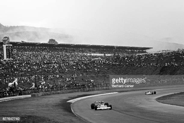James Hunt Jochen Mass McLarenFord M23 Grand Prix of Japan Fuji Speedway 24 October 1976