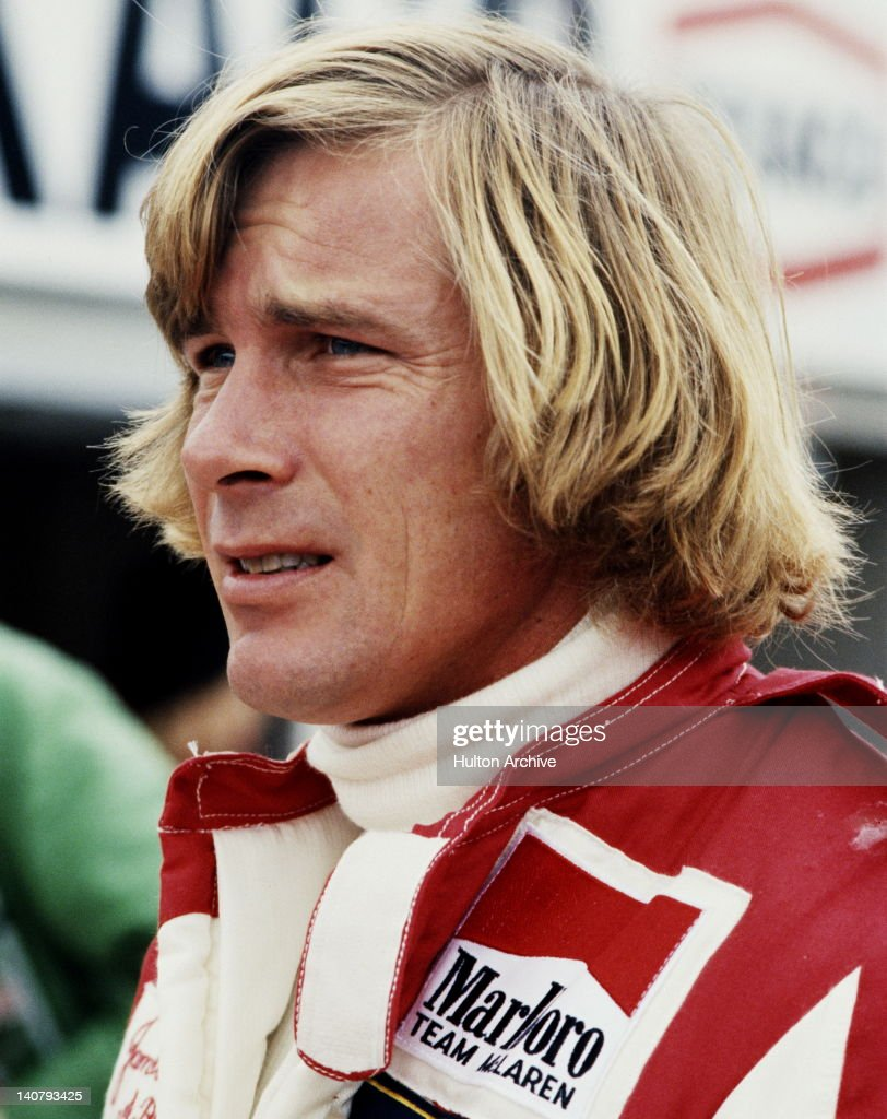 James Hunt of Great Britain, driver of the #7 Marlboro Team McLaren McLaren M26 Ford V8 during practice for the British Grand Prix on 15th July 1978 at the Brands Hatch circuit in Fawkham, Great Britain.