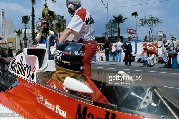 James Hunt Teddy Mayer McLarenFord M26 Grand Prix of United States West Long Beach 03 April 1977
