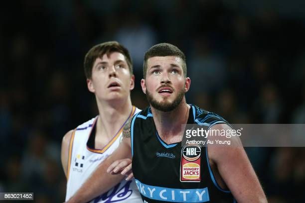 James Hunter of the Breakers in action during the round three NBL match between the New Zealand Breakers and the Sydney Kings at Spark Arena on...