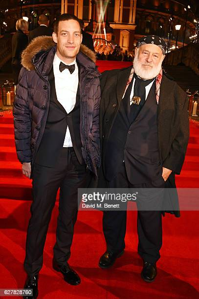 James Jagger and Bruce Weber attend The Fashion Awards 2016 at Royal Albert Hall on December 5 2016 in London United Kingdom