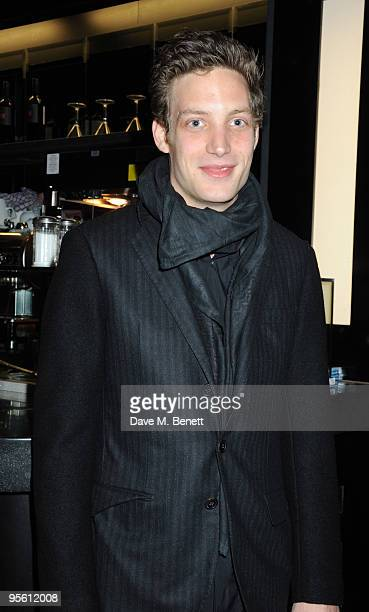 James Jagger attend the VIP screening of ''Sex Drugs Rock Roll'' at the Screen on the Hill in Islington on January 6 2010 in London England