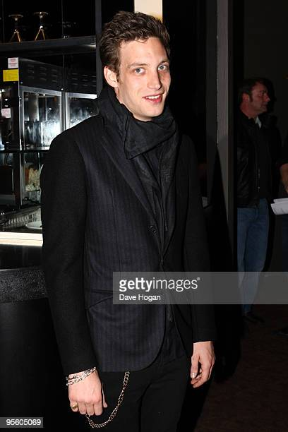 James Jagger attends a VIP screening of Sex Drugs Rock Roll held at Screen on the Green on January 6 2010 in London England
