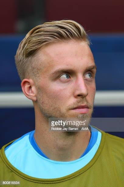 James Jeggo of Australia during the FIFA Confederations Cup Russia 2017 Group B match between Chile and Australia at Spartak Stadium on June 25 2017...
