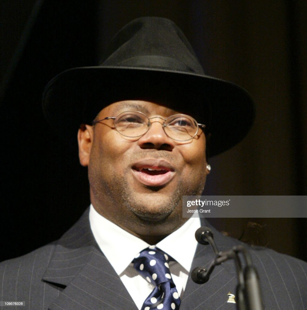 James 'Jimmy Jam' Harris during 2005 Surround Music Awards Show at Beverly Hills Hilton in Beverly Hills California United States