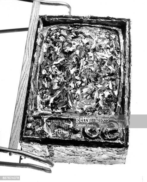 James Johnson's 'Black and White and Color TV' a thickly painted television the Grumbacher Bronze quite possibly for most paint consumed Credit The...