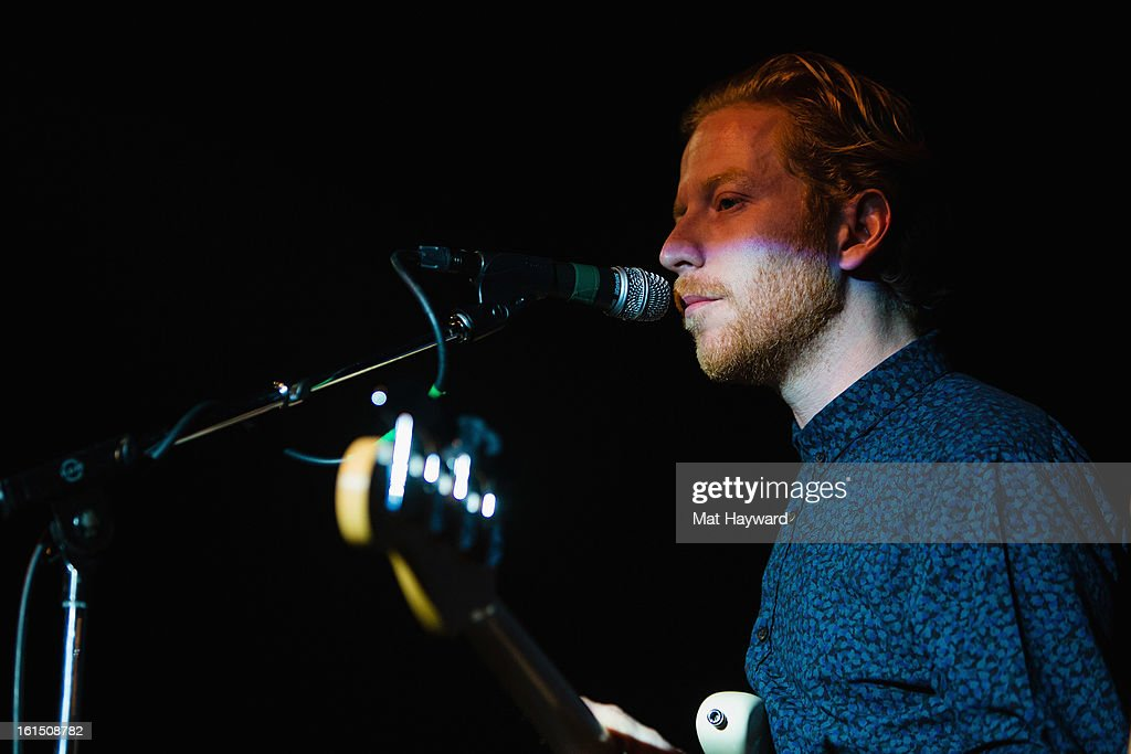 James Johnstonl of Biffy Clyro performs during the SXSW launch party at the Crocodile on February 11, 2013 in Seattle, Washington.
