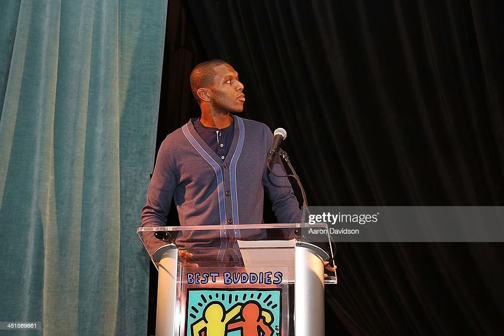 James Jones attends The Seventeenth Annual Best Buddies Miami Gala Auction at Fontainebleau Miami Beach on November 22, 2013 in Miami Beach, Florida.