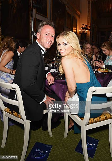 James Jordan and Ola Jordan attend The Dream Ball in aid of The Prince's Trust and Big Change at Lancaster House on July 7 2016 in London United...