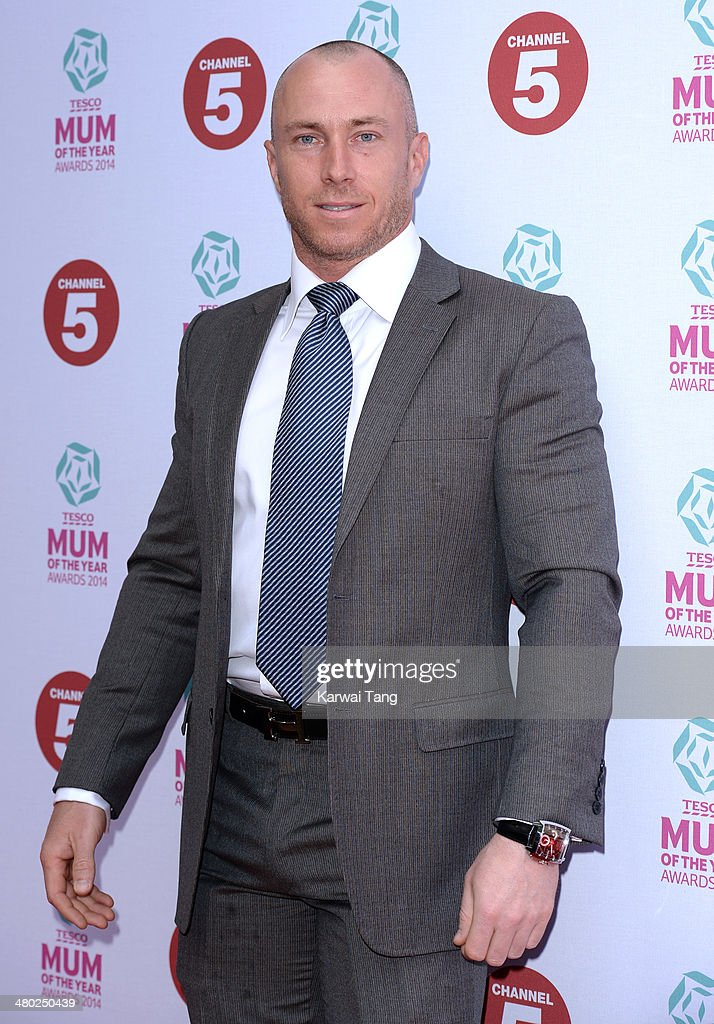 James Jordan attends the Tesco Mum of the Year awards at The Savoy Hotel on March 23, 2014 in London, England.