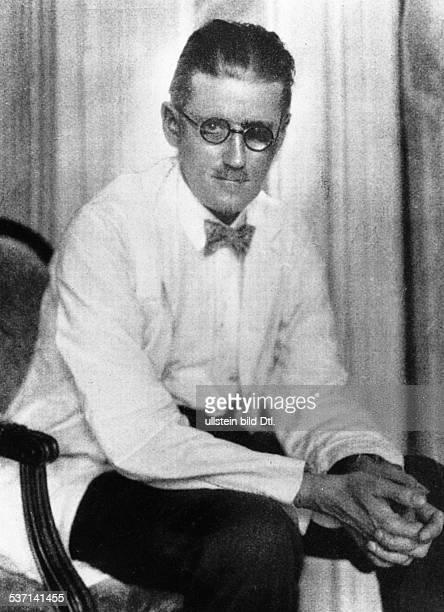 James JoyceJames Joyce Schriftsteller Irland Porträt um 1930