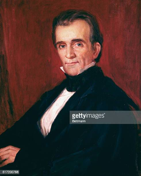 James K Polk Painting by Max Westfield after GPA Healy 11th President