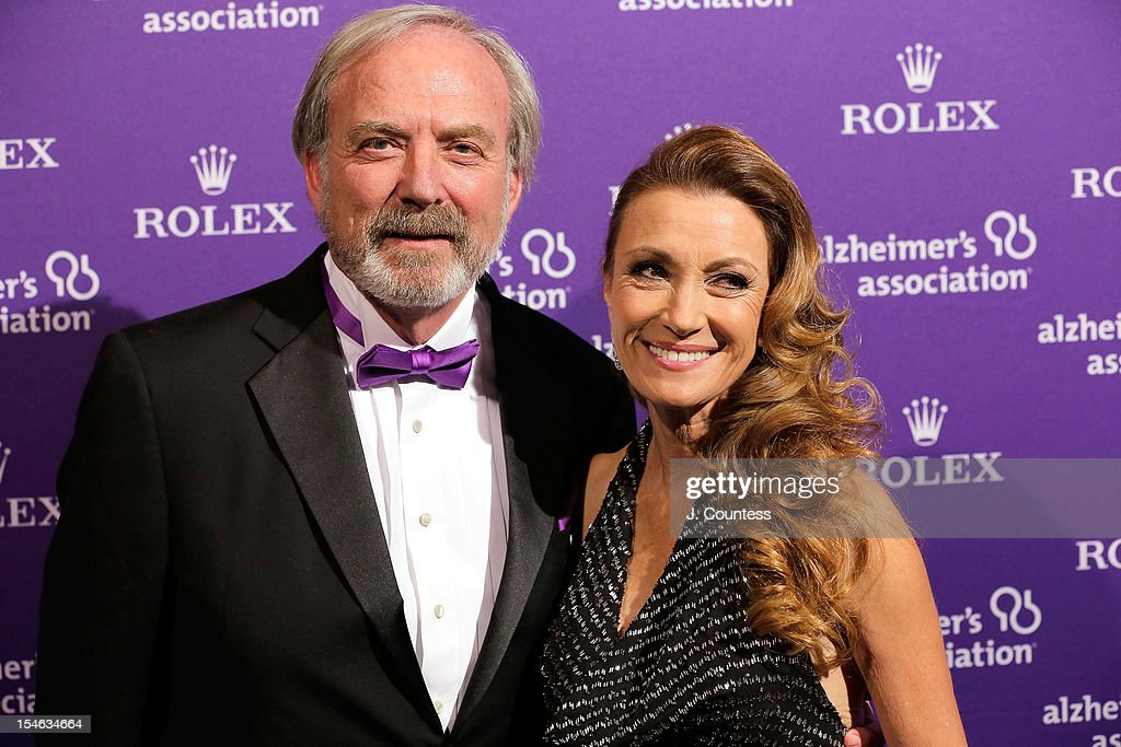 <a gi-track='captionPersonalityLinkClicked' href=/galleries/search?phrase=James+Keach&family=editorial&specificpeople=539602 ng-click='$event.stopPropagation()'>James Keach</a> and actress Jane Seymour attend the 2012 Alzheimer Association Rita Hayworth Gala at The Waldorf Astoria on October 23, 2012 in New York City.