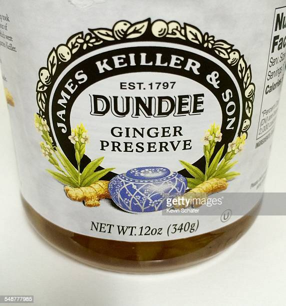 James Keiller Son Dundee Ginger Preserve traditional marmalade from Britain