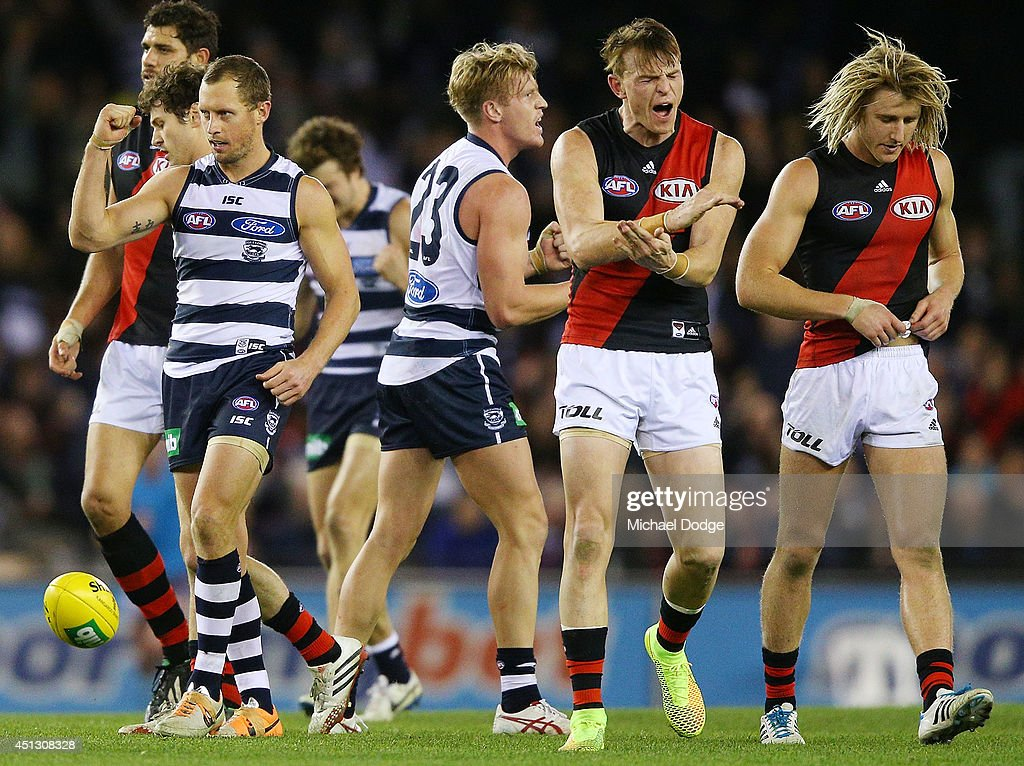 AFL Rd 15 - Geelong v Essendon