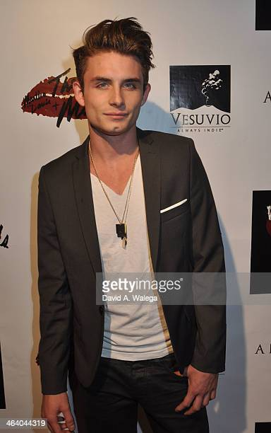 James Kennedy arrives at the Martha Davis The Motels concert at Whisky a Go Go on January 19 2014 in West Hollywood California