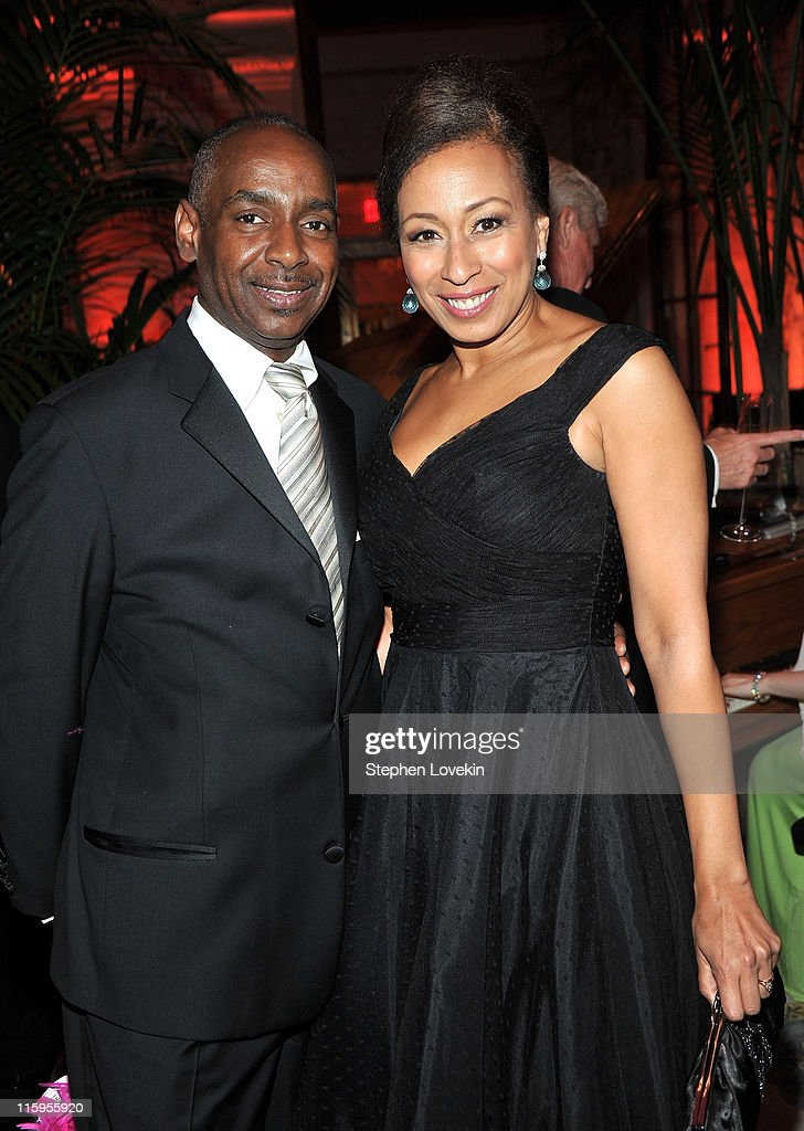 James King and <a gi-track='captionPersonalityLinkClicked' href=/galleries/search?phrase=Tamara+Tunie&family=editorial&specificpeople=213326 ng-click='$event.stopPropagation()'>Tamara Tunie</a> attend the party following the 65th Annual Tony Awards on June 12, 2011 in New York City.