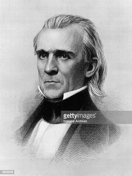 James Knox Polk eleventh President of the United States who served from 1845 to 1849