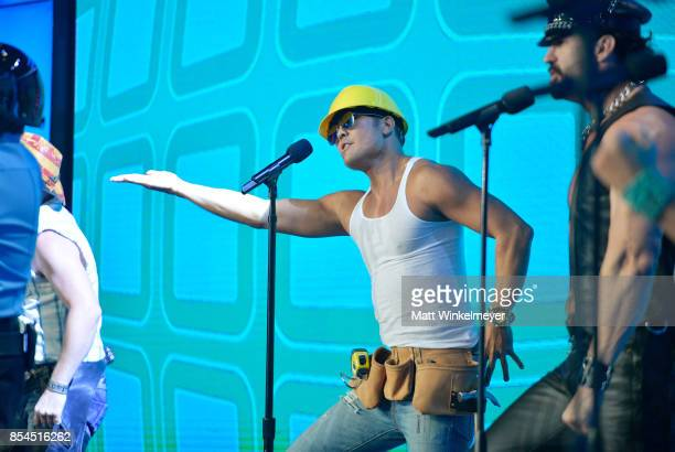 James Kwong of Village People at the 2017 Streamy Awards at The Beverly Hilton Hotel on September 26 2017 in Beverly Hills California