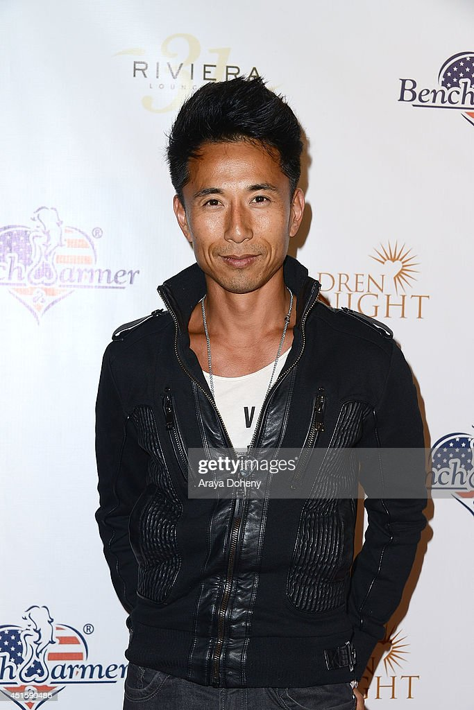 James Kyson attends the Children of The Night and BenchWarmer's annual Stars & Stripes event on July 1, 2014 in Los Angeles, California.