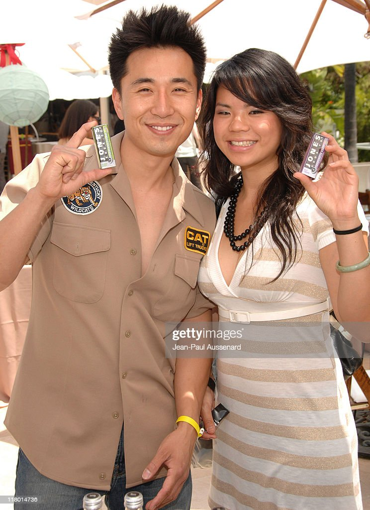 James Kyson Lee and guest during 2007 Silver Spoon MTV Movie Awards Gifting Suite Day 2 in Los Angeles California United States Photo by JeanPaul...