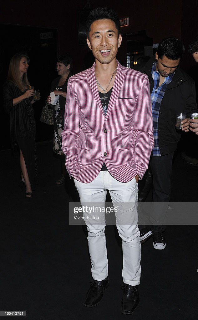 James Kyson Lee attends iiJin's Fall/Winter 2013 'The Love Revolution' Clothing And Footwear Collection Fashion Show at Avalon on April 3, 2013 in Hollywood, California.
