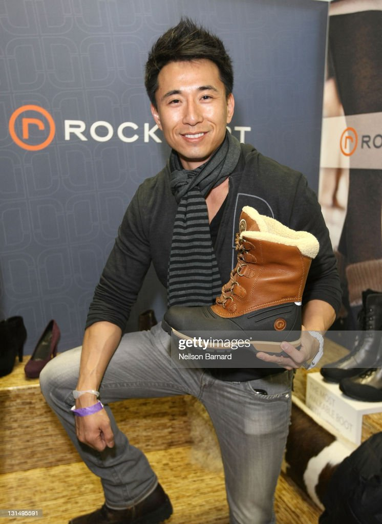 James Kyson Lee attends Rockport at the Kari Feinstein Style Lounge on January 24 2011 in Park City Utah