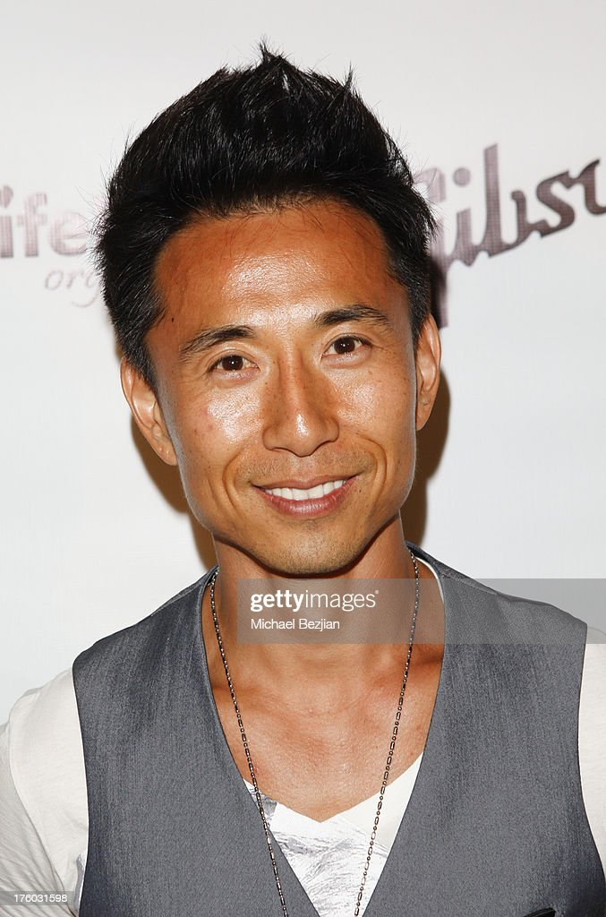 James Kyson Lee attends Showcase Benefiting The Carrie Ann Inaba Animal Project at Gibson Guitar Entertainment Relations Showroom on August 10, 2013 in Beverly Hills, California.