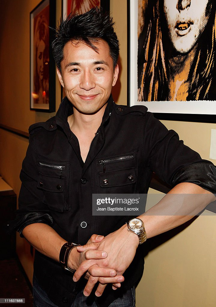 James Kyson Lee attends the Hollywood Most Wanted Art Show hosted by Zachary Quinto on October 5 2007 at The Venice Grind Gallery in Venice California