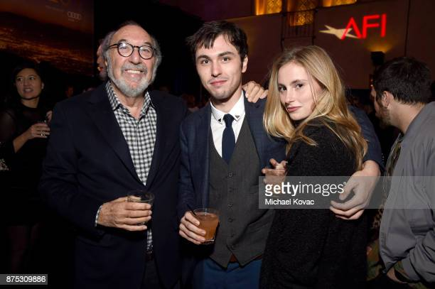 James L Brooks Joseph Brooks and Annie Hamilton attend the after party for the screening of 'Molly's Game' at the Closing Night Gala at AFI FEST 2017...