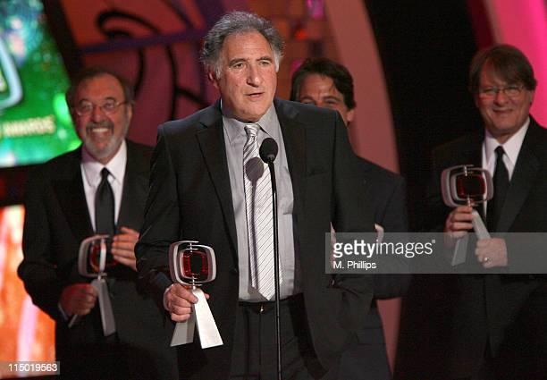 James L Brooks Judd Hirsch Tony Danza and Randall Carver winners Medallion Award for 'Taxi'