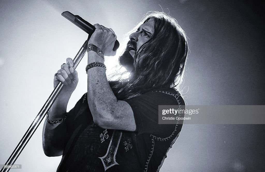 James LaBrie of Dream Theater performs at Wembley Arena on February 14, 2014 in London, England.