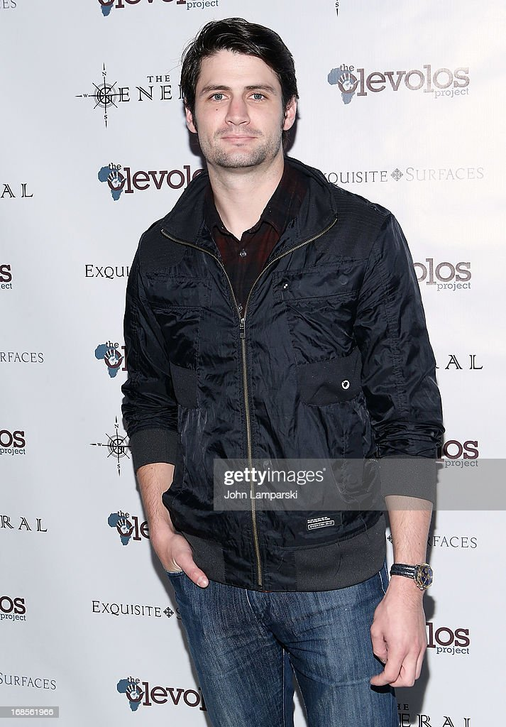 <a gi-track='captionPersonalityLinkClicked' href=/galleries/search?phrase=James+Lafferty&family=editorial&specificpeople=214146 ng-click='$event.stopPropagation()'>James Lafferty</a> attends The Second Annual Olevolos Project Fundraiser at The General on May 11, 2013 in New York City.