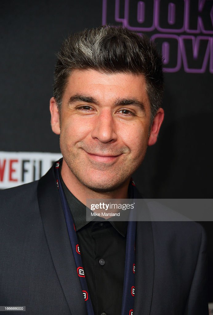 James Lance attends 'The Look Of Love' UK premiere at Curzon Soho on April 15, 2013 in London, England.