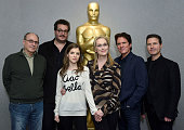 James Lapine Wyatt Smith Anna Kendrick Meryl Streep Rob Marshall and Dion Beebe attend the The Academy Of Motion Picture Arts And Sciences Hosts An...