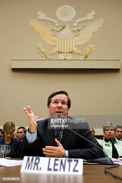James Lentz Toyota President and COO of Motor Sales in the US testifies before a House Energy and Commerce Oversight and Investigations Subcommittee...