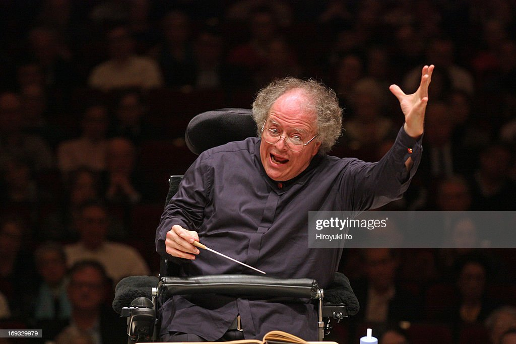 <a gi-track='captionPersonalityLinkClicked' href=/galleries/search?phrase=James+Levine+-+Conductor&family=editorial&specificpeople=220716 ng-click='$event.stopPropagation()'>James Levine</a> leading the Met Orchestra in Schubert's 'Symphony No. 9 in C Major' at Carnegie Hall on Sunday night, May 19, 2013.