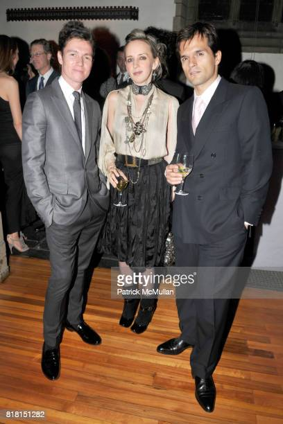 James Lindon Hope Atherton and Ales Ortuzar attend DIA ART FOUNDATION Fall Gala 2010 at Hispanic Society of America and Church of the Intercession on...