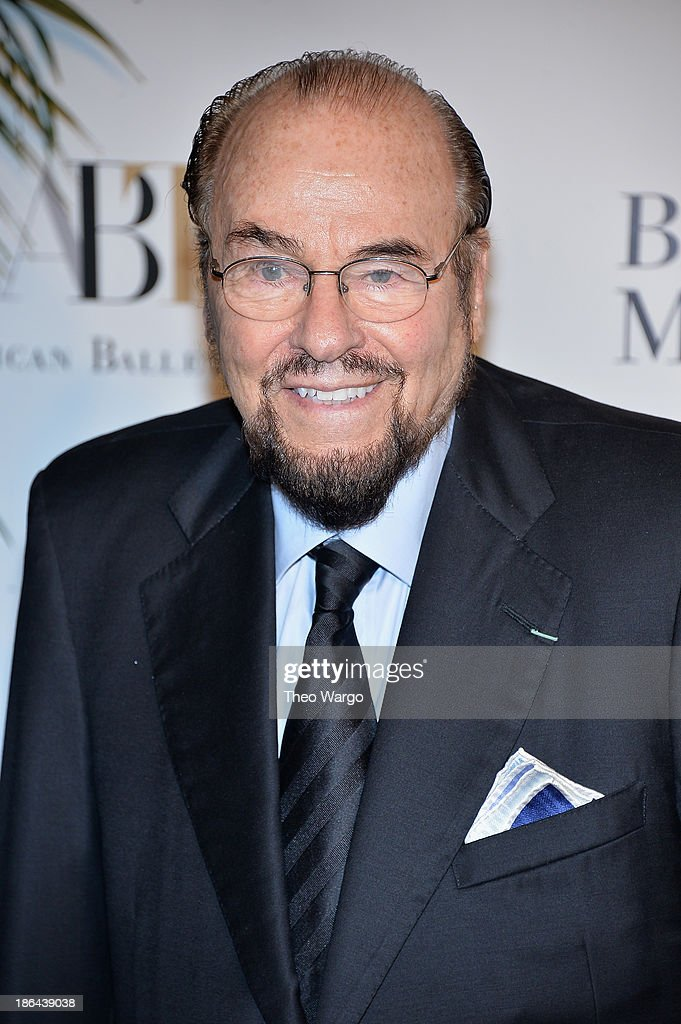 <a gi-track='captionPersonalityLinkClicked' href=/galleries/search?phrase=James+Lipton&family=editorial&specificpeople=240724 ng-click='$event.stopPropagation()'>James Lipton</a> attends American Ballet Theatre 2013 Opening Night Fall gala at David Koch Theatre at Lincoln Center on October 30, 2013 in New York City.