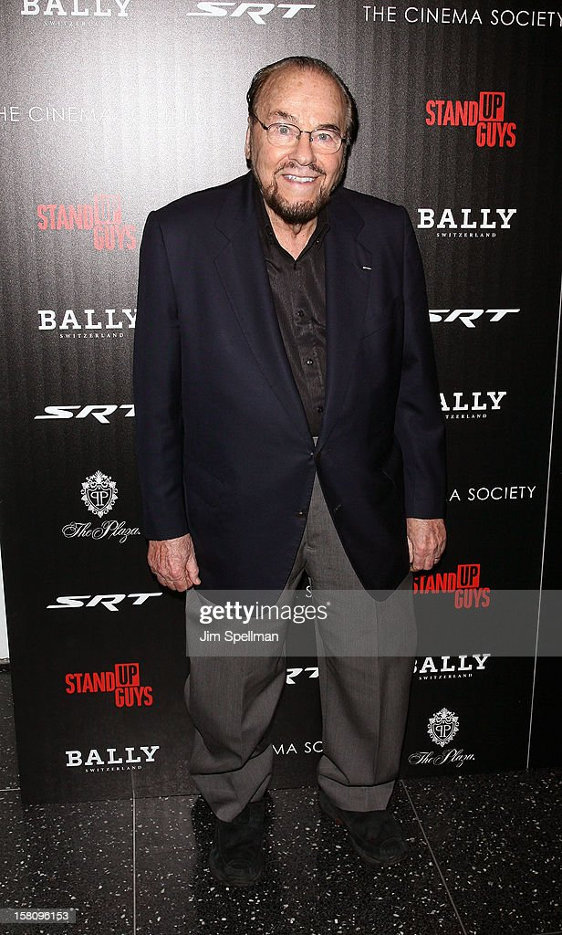 James Lipton attends The Cinema Society With Chrysler & Bally premiere of 'Stand Up Guys' at Museum of Modern Art on December 9, 2012 in New York City.